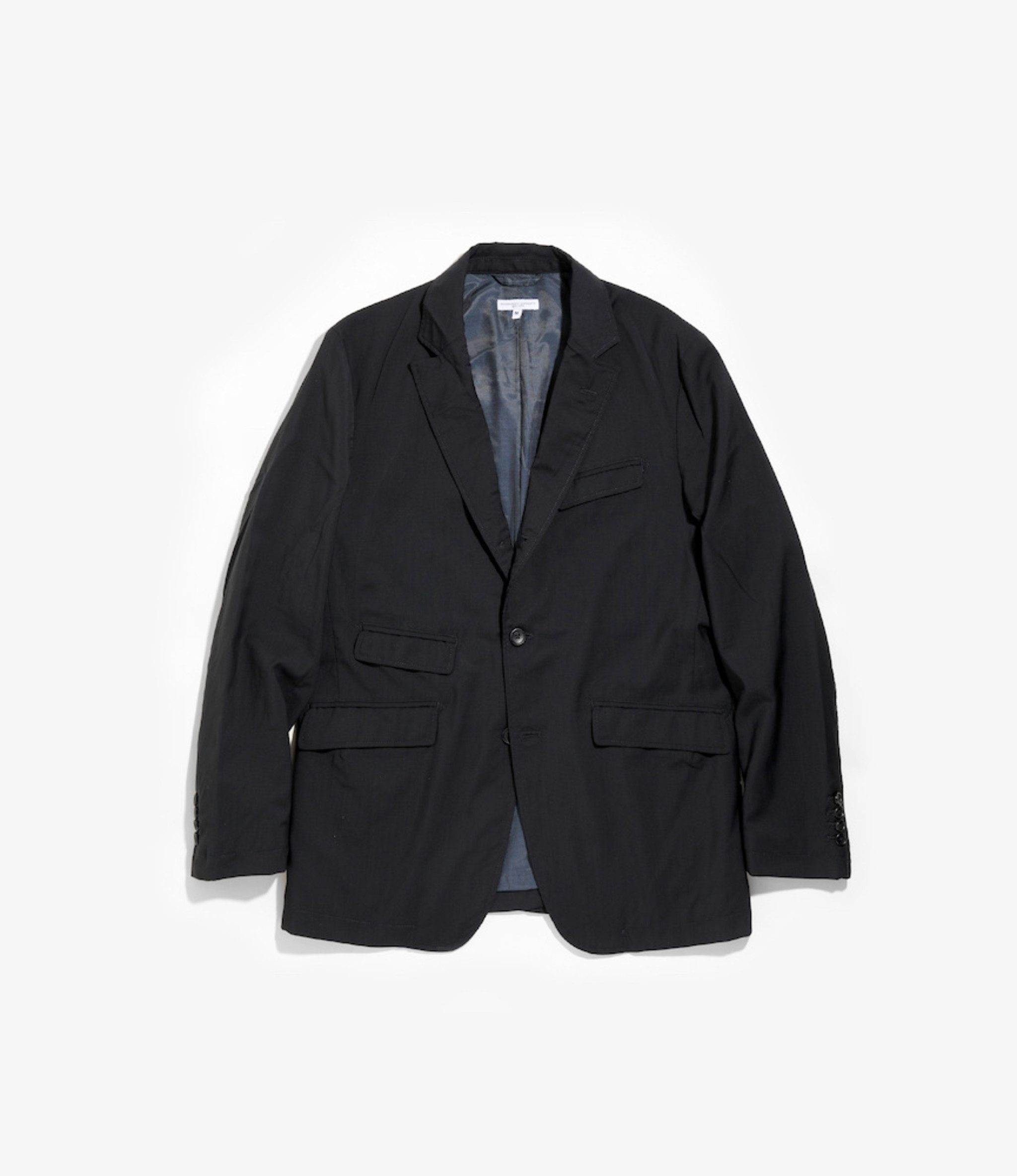 Engineered Garments Andover Jacket - Dk.Navy Tropical Wool