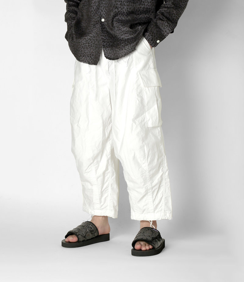 Needles H.D. Pant - BDU - Off White