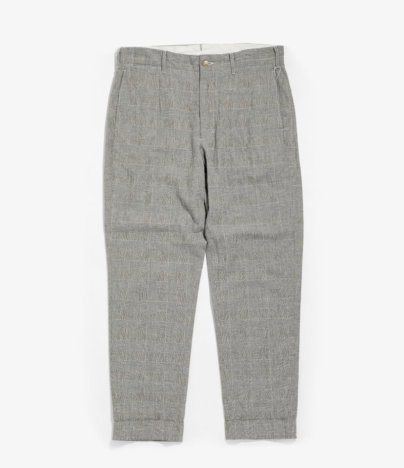 Engineered Garments Andover Pant - Grey CL Glen Plaid