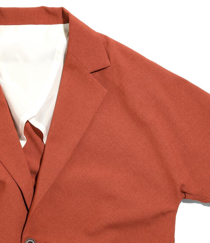 Needles Miles Jacket - Tropical Poly Cloth - Brick