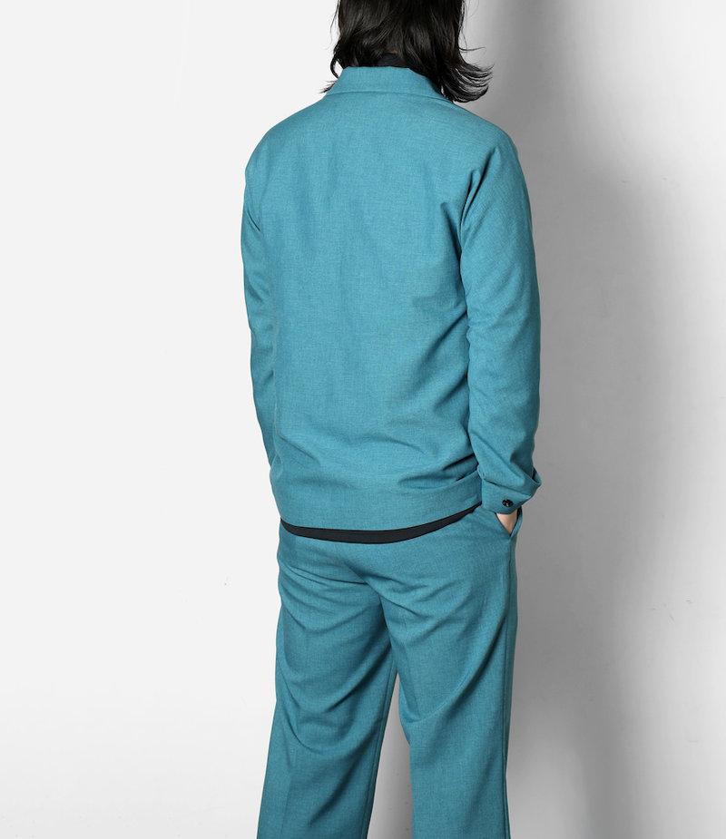 Needles Miles Jacket - Tropical Poly Cloth - Blue