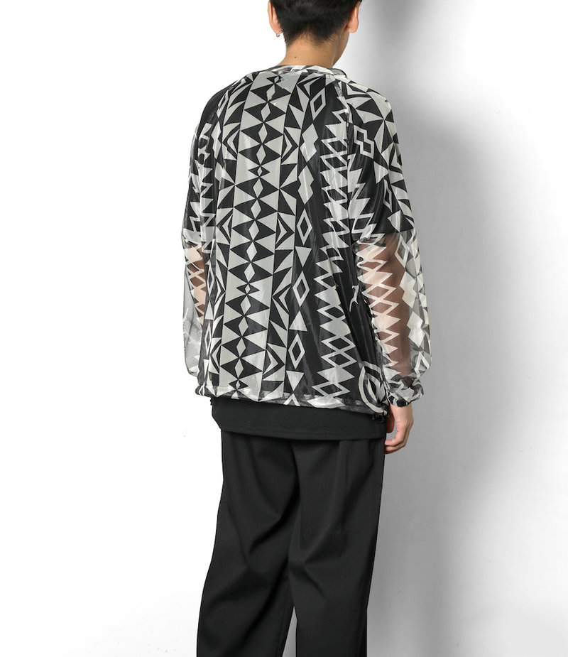 South2 West8 Bush Shirt - Poly Lightweight Mesh / Print - Skull&Target