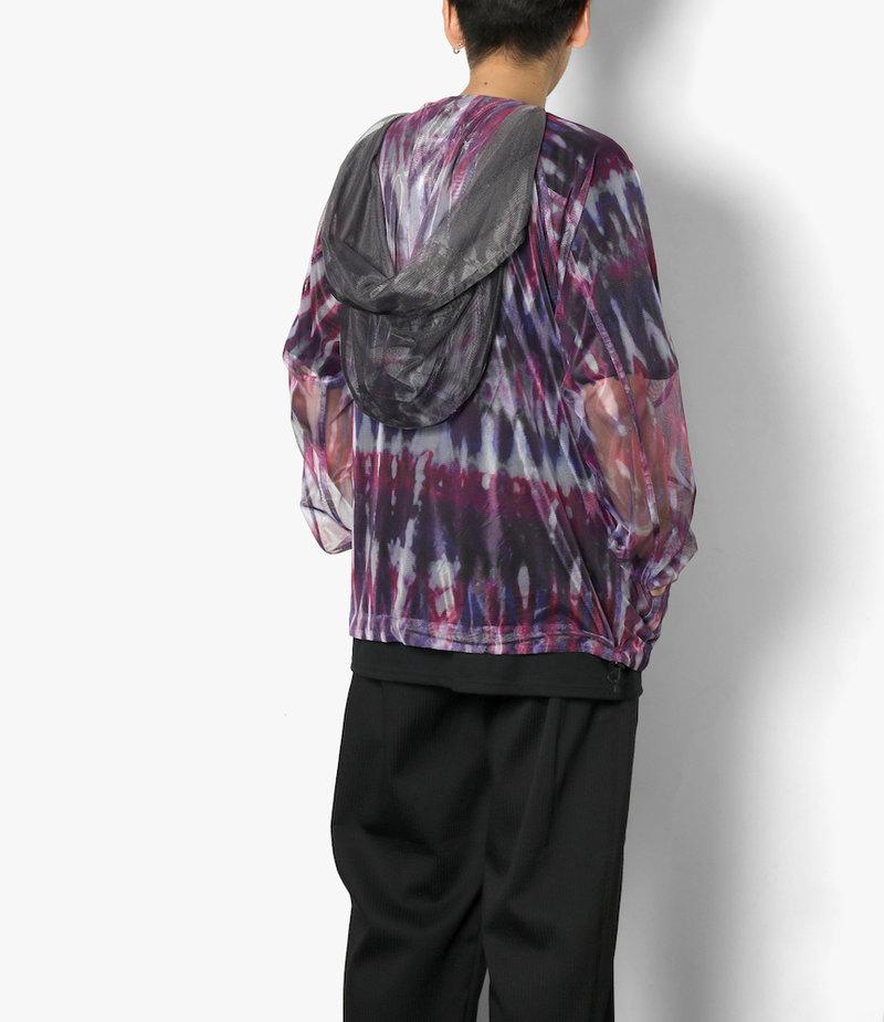 South2 West8 Bush Parka - Poly Lightweight Mesh / Print - Tie Dye