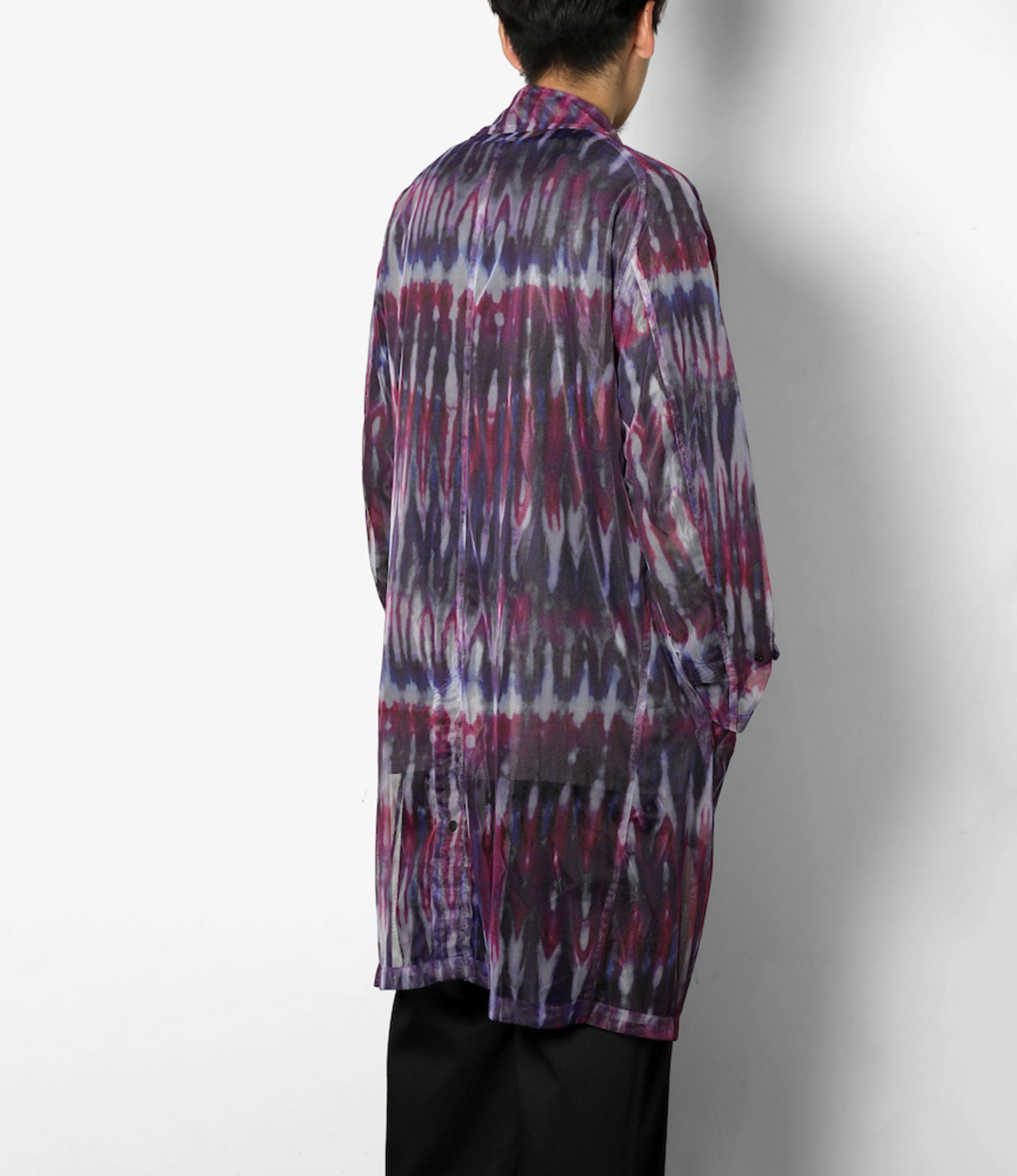 South2 West8 Bush Coat - Poly Lightweight Mesh / Print - Tie Dye