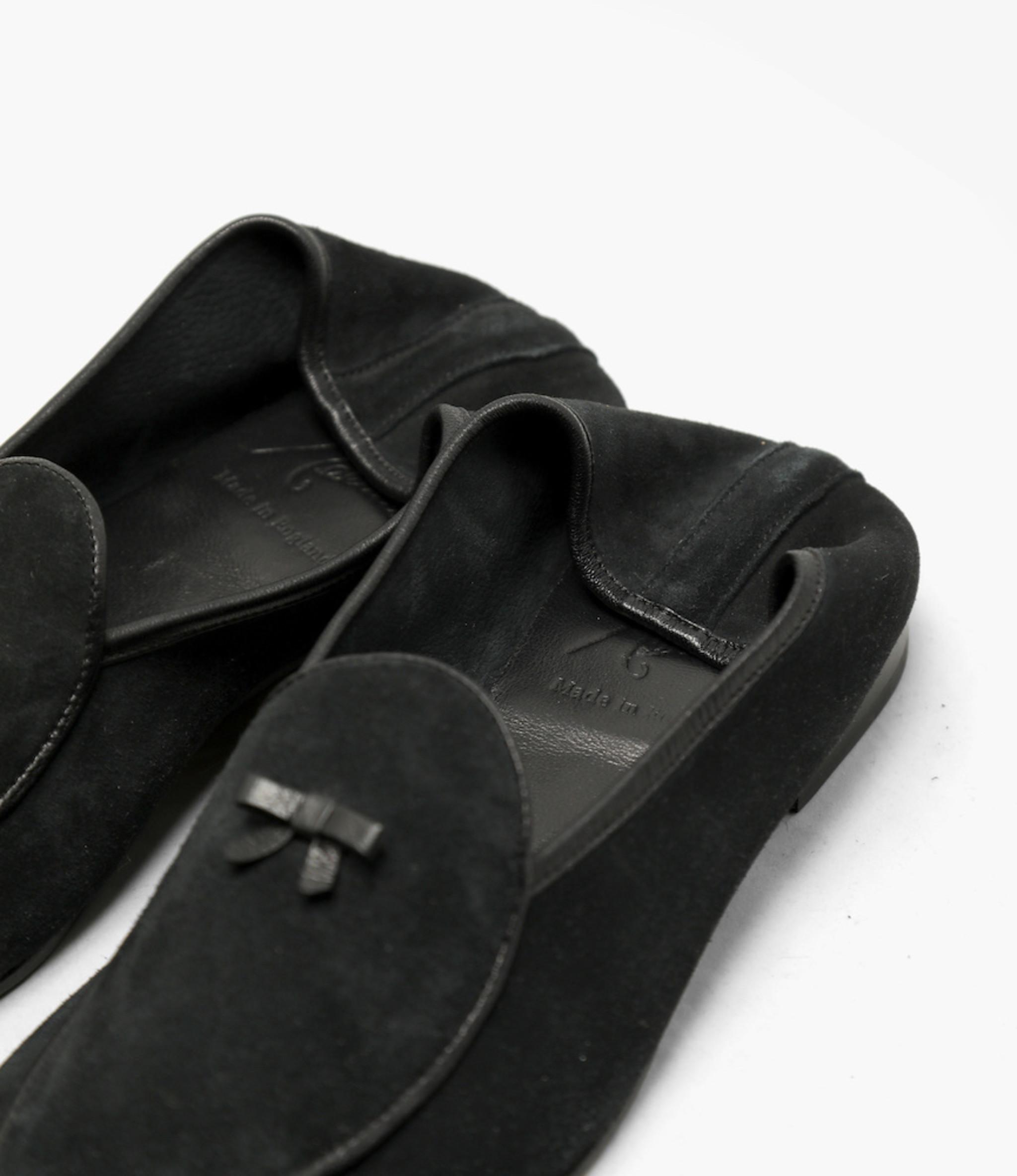 Needles Slip on with Bow - Black