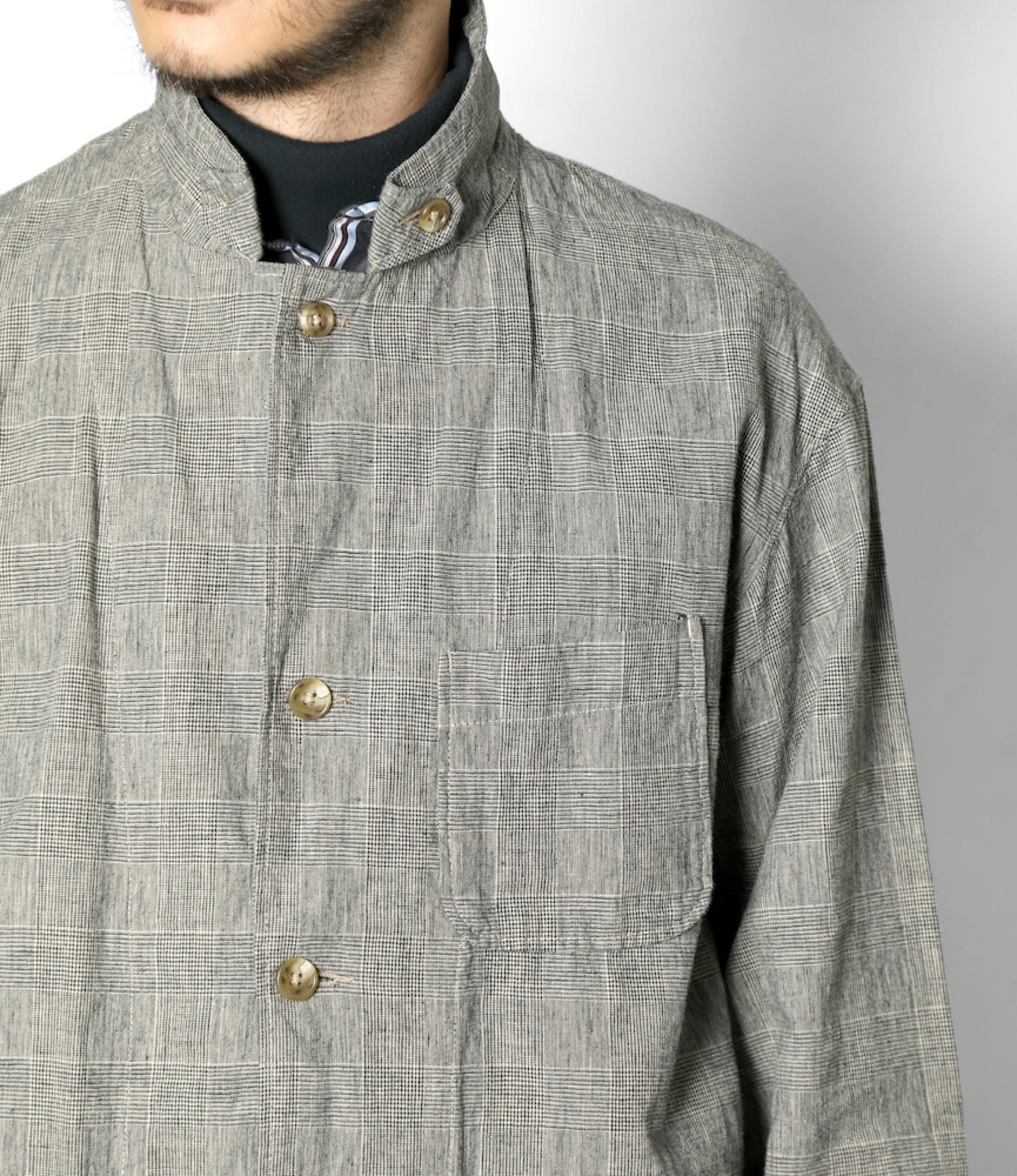 Engineered Garments Loiter Jacket - Grey CL Glen Plaid