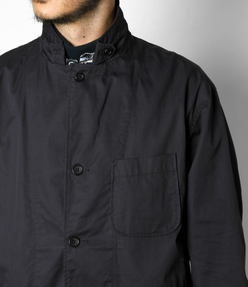 Engineered Garments Loiter Jacket - Dk.Navy High Count Twill
