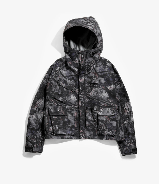 South2 West8 River Trek Jacket - Water Proof / S2W8 Camo - Grey