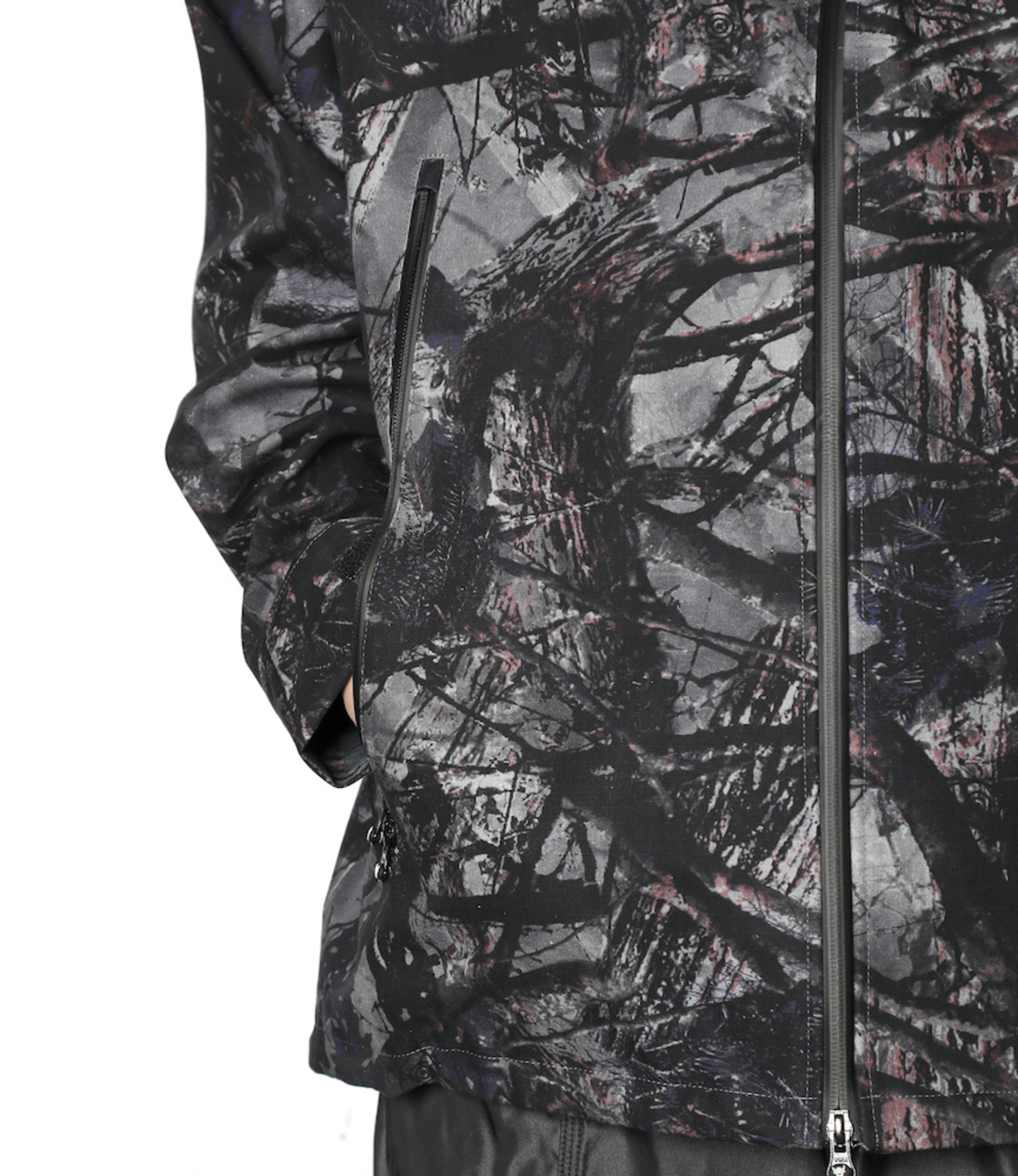 South2 West8 Weather Effect Jacket - Water Proof / S2W8 Camo - Grey