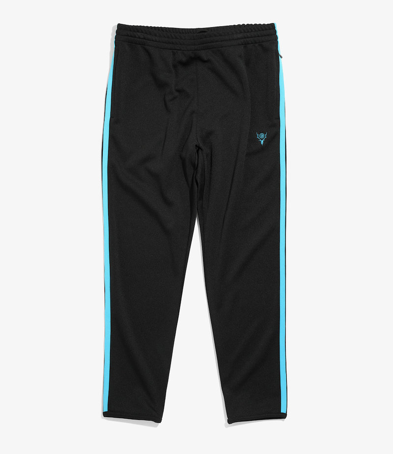South2 West8 Trainer Pant - Poly Smooth - Black