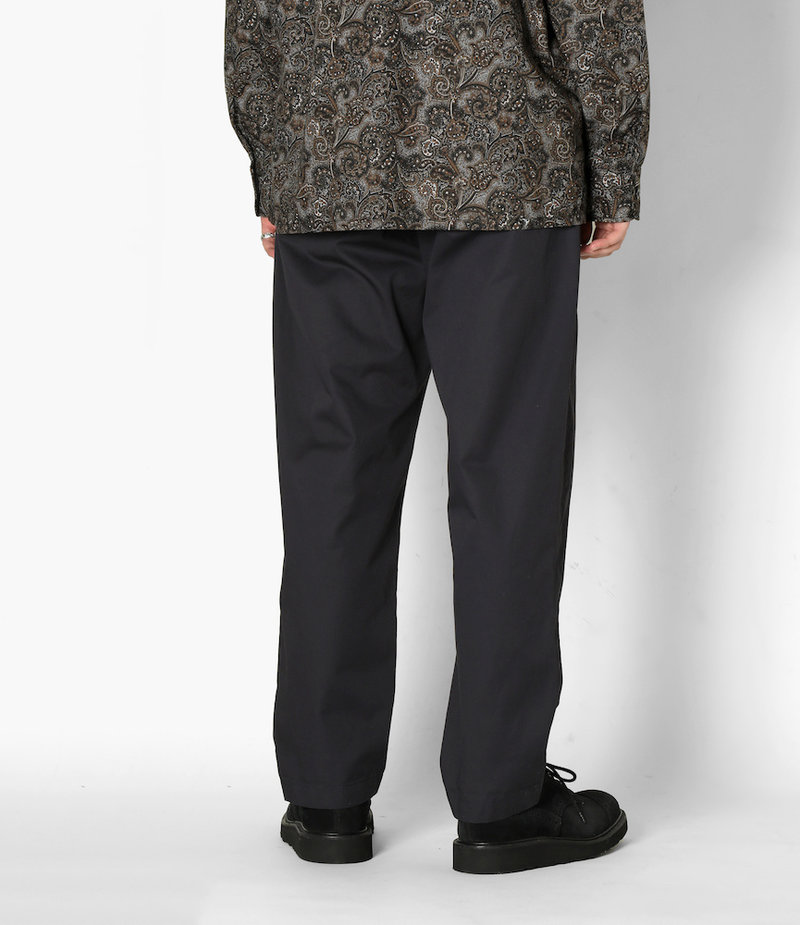 Engineered Garments Carlyle Pant - Black High Count Twill