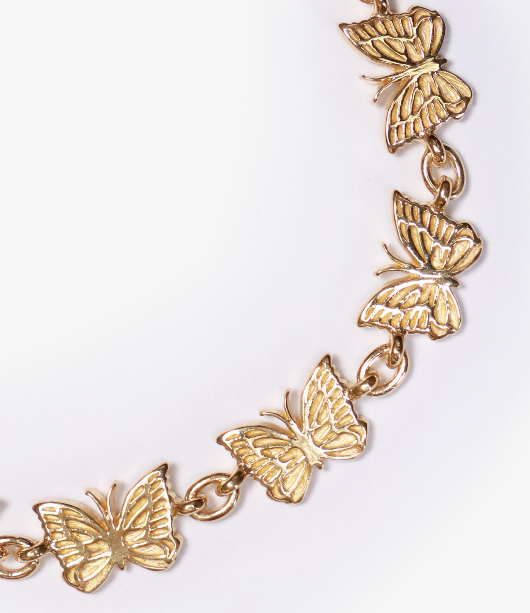 Needles Bracelet - Gold Plate - Papillon Medium