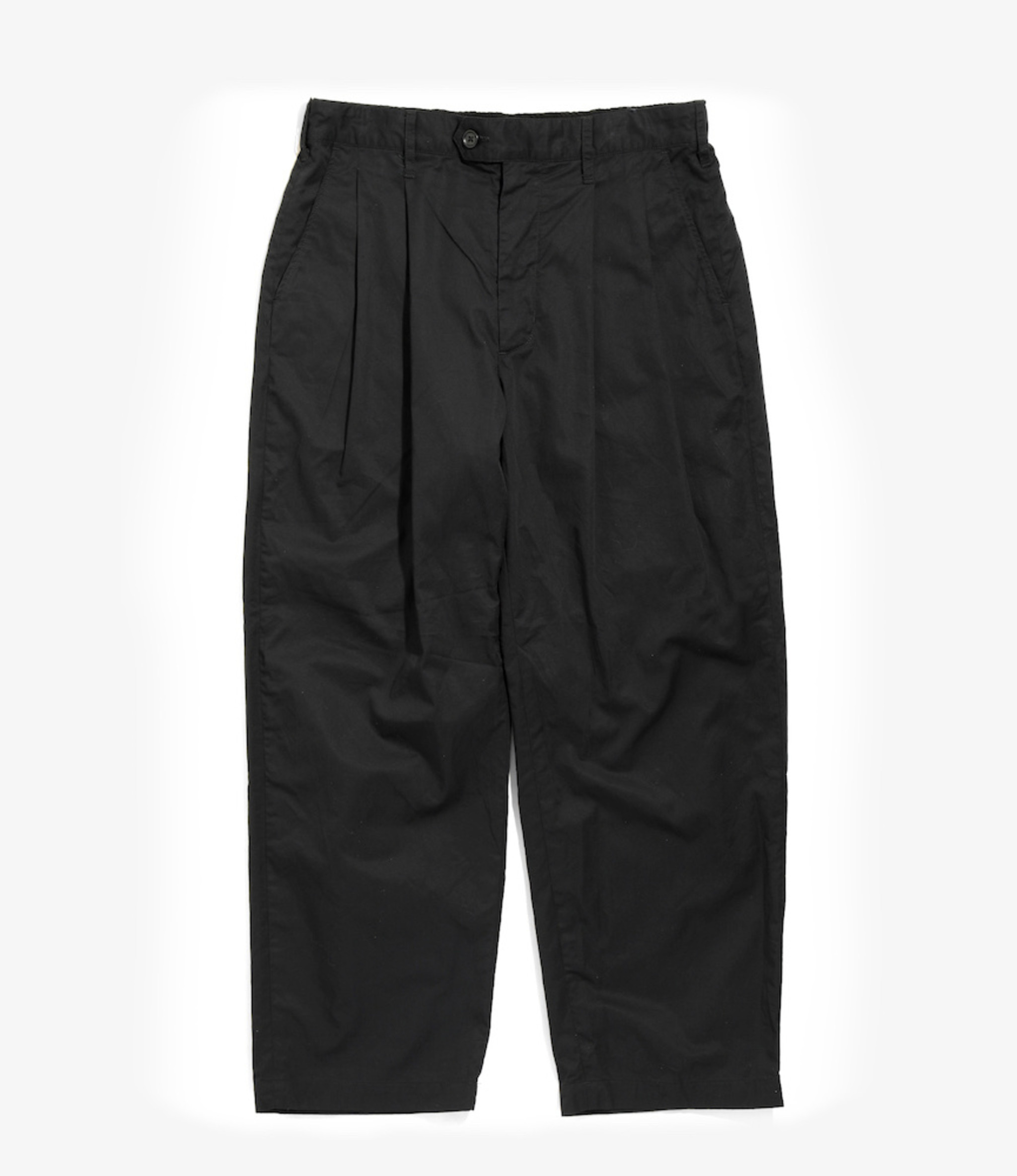 Engineered Garments Emerson Pant - Black High Count Twill
