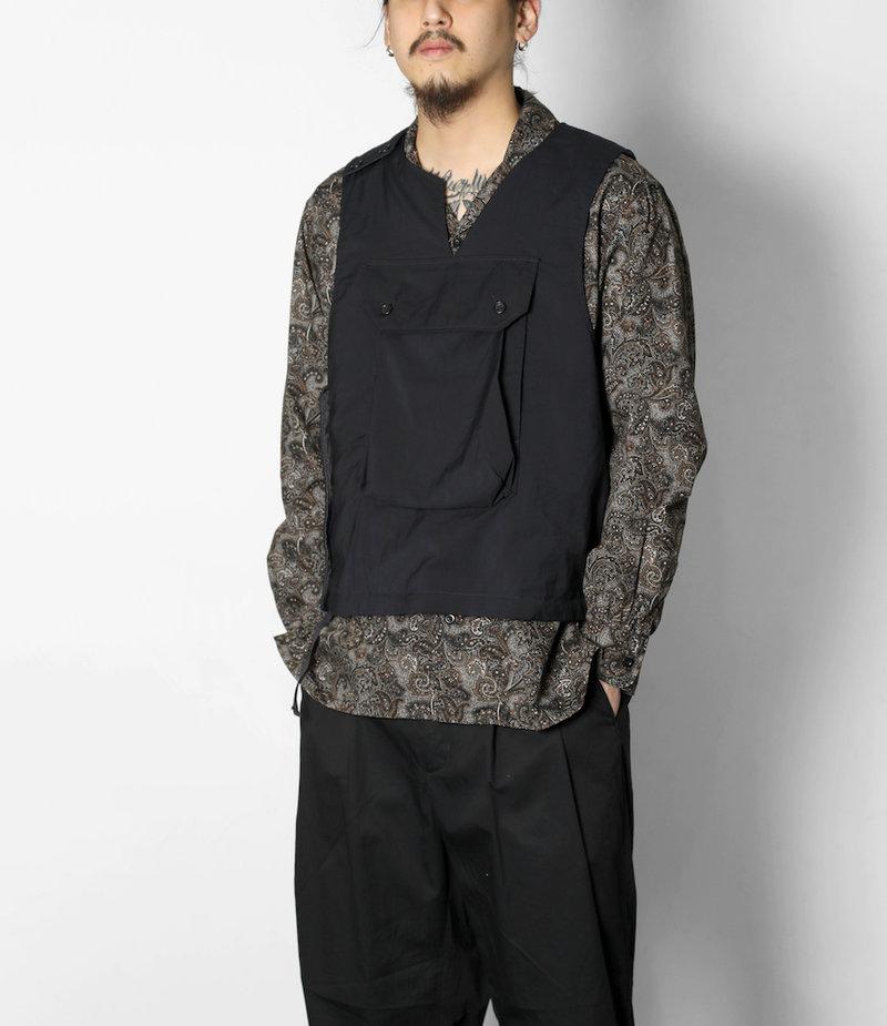 Engineered Garments Cover Vest - Dk.Navy Tropical Wool