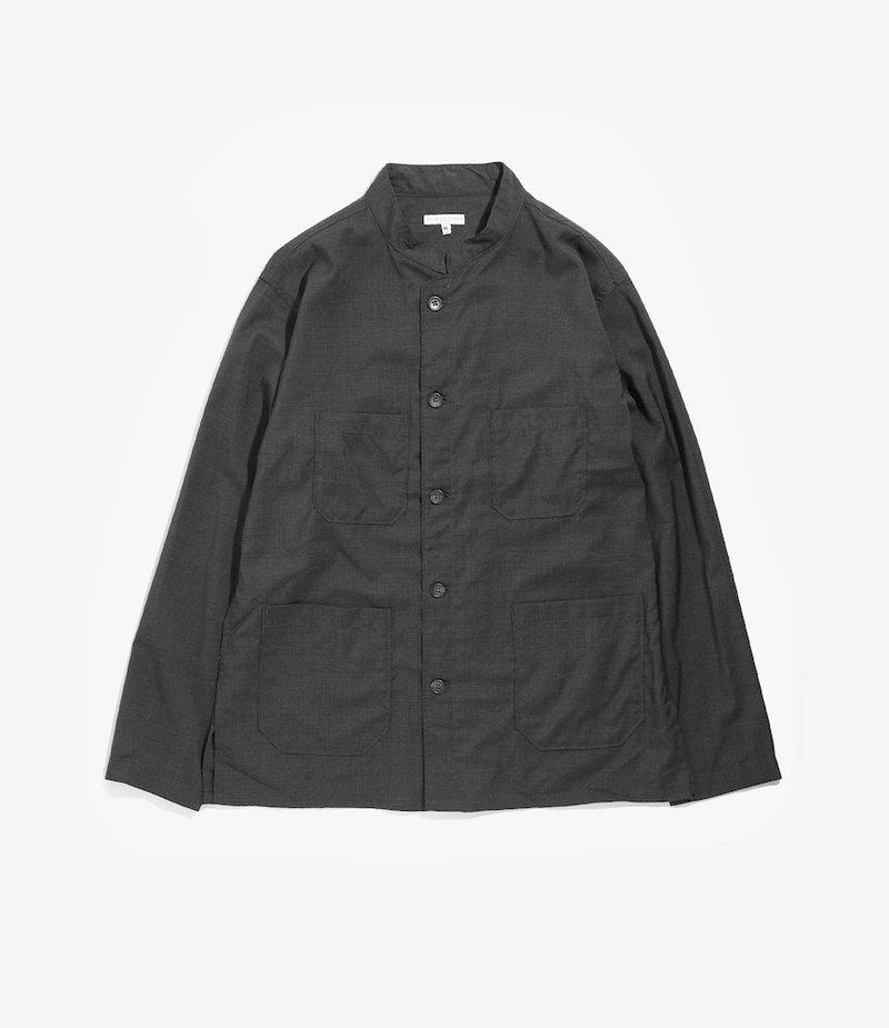 Engineered Garments Dayton Shirt - Grey Tropical Wool