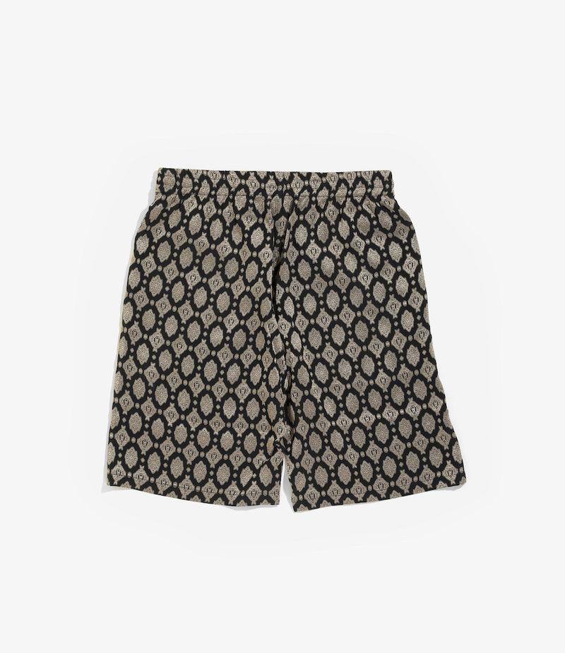 Needles Basketball Short - Ac/Cu Jacquard / Fine Pattern - Navy