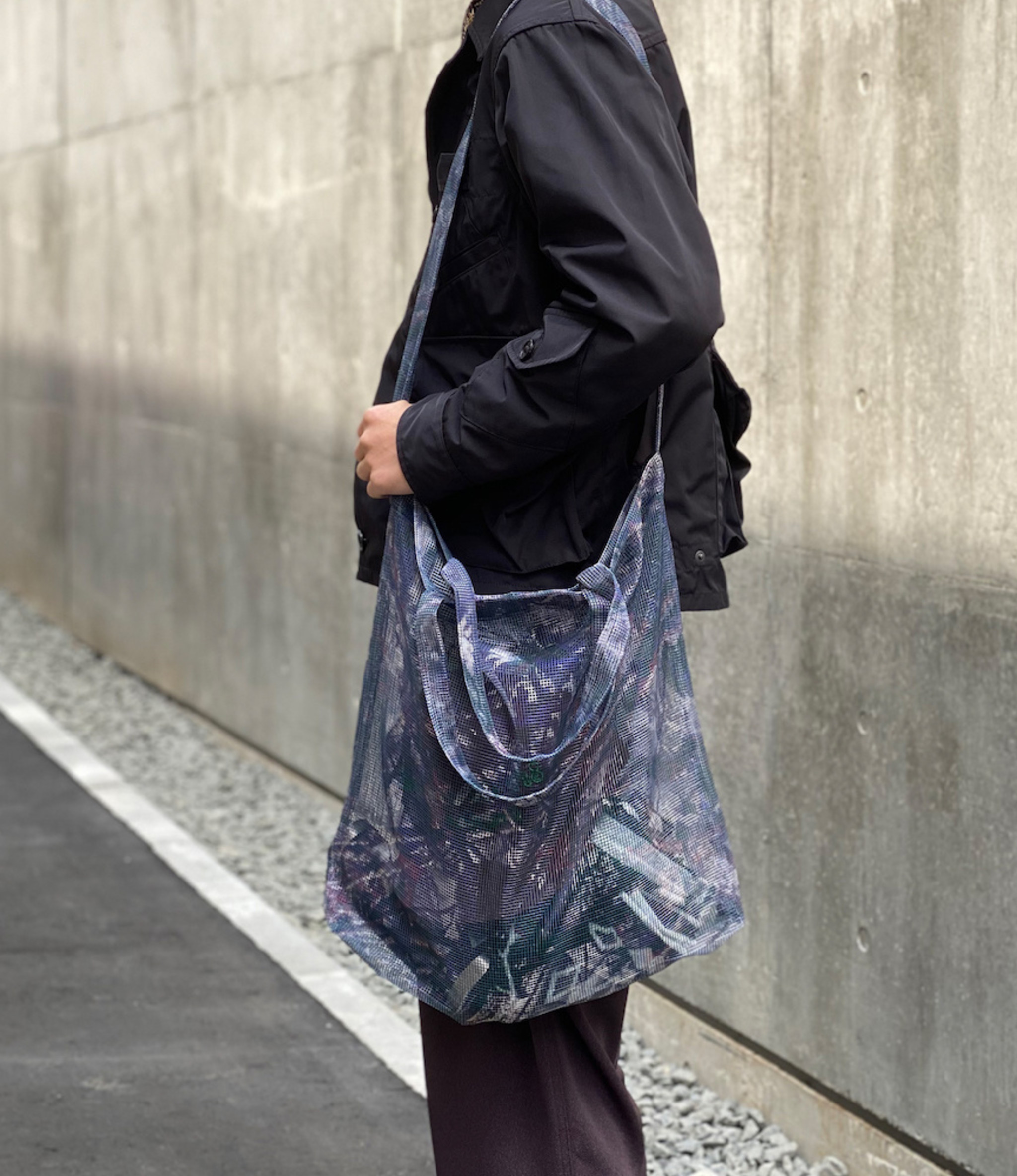 South2 West8 Grocery Bag - Poly Heavyweight Mesh / Print - S2W8 Camo