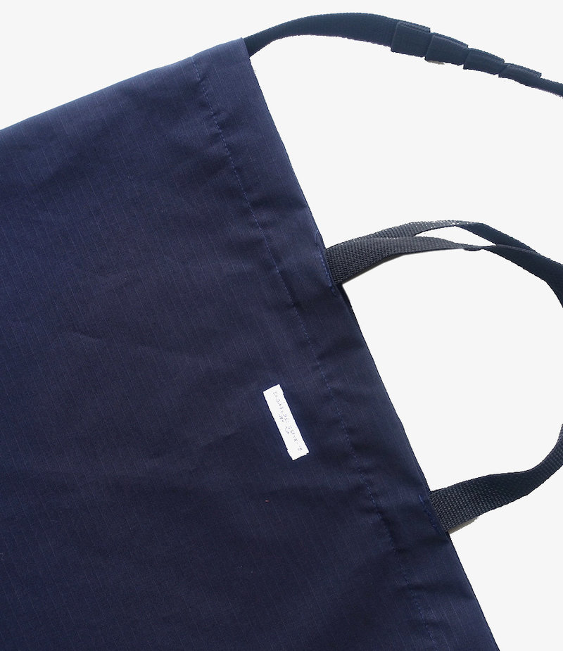 Engineered Garments Carry All Tote - Dk.Navy Cotton Ripstop