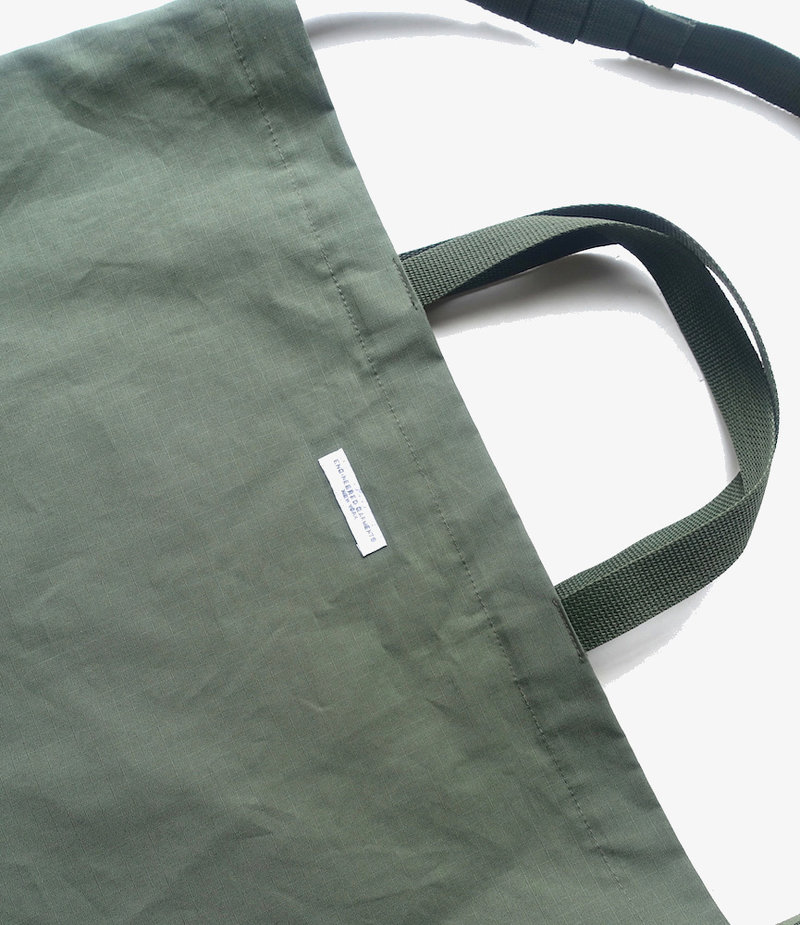 Engineered Garments Carry All Tote - Olive Cotton Ripstop