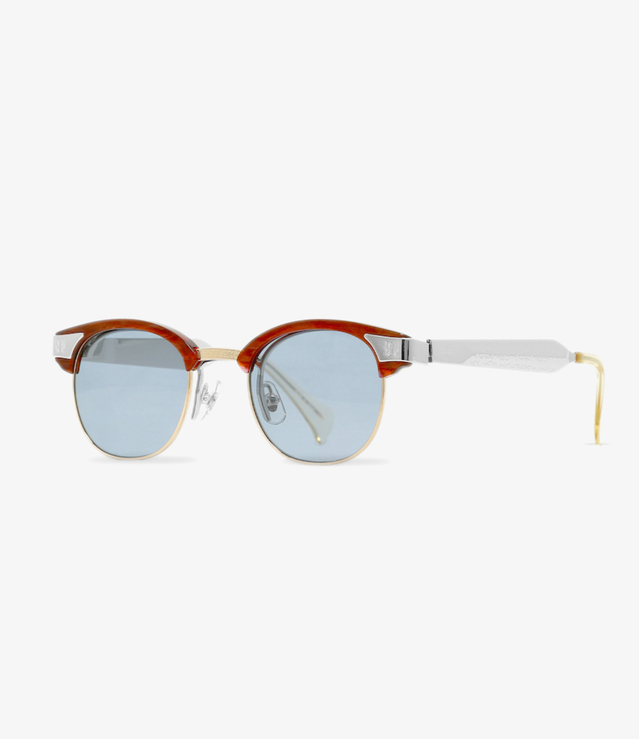 Needles Needles x MATSUDA / Papillon Glasses - James Sunglasses - Black