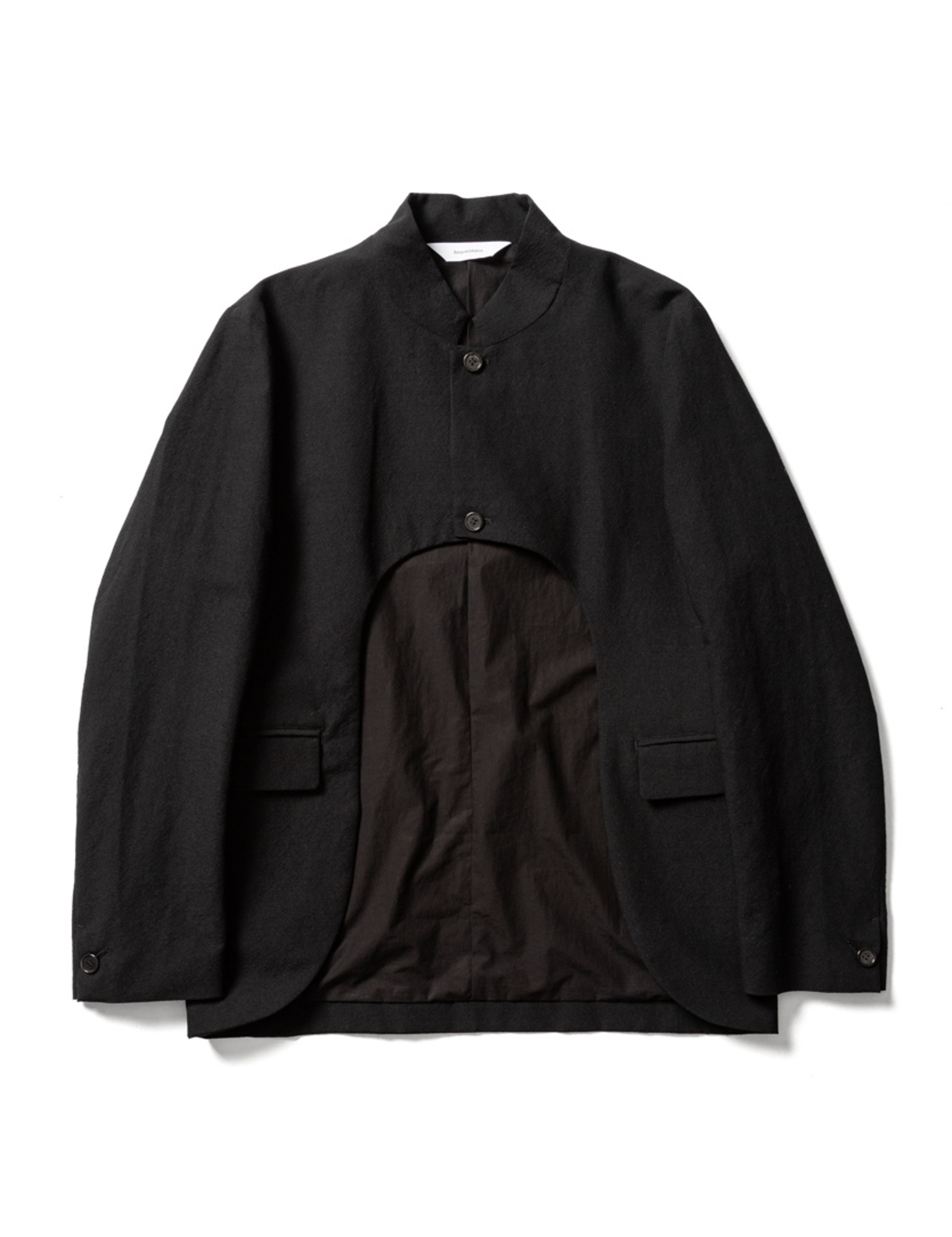 Sasquatchfabrix. BOLERO JACKET - Black