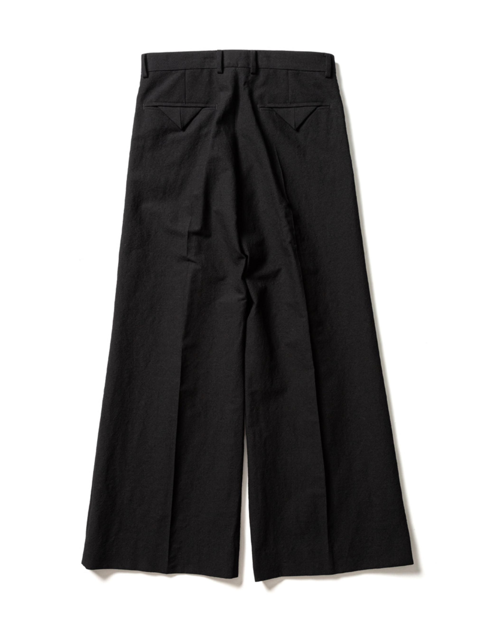 Sasquatchfabrix. FLARE SILHOUETTE SLACKS - Black