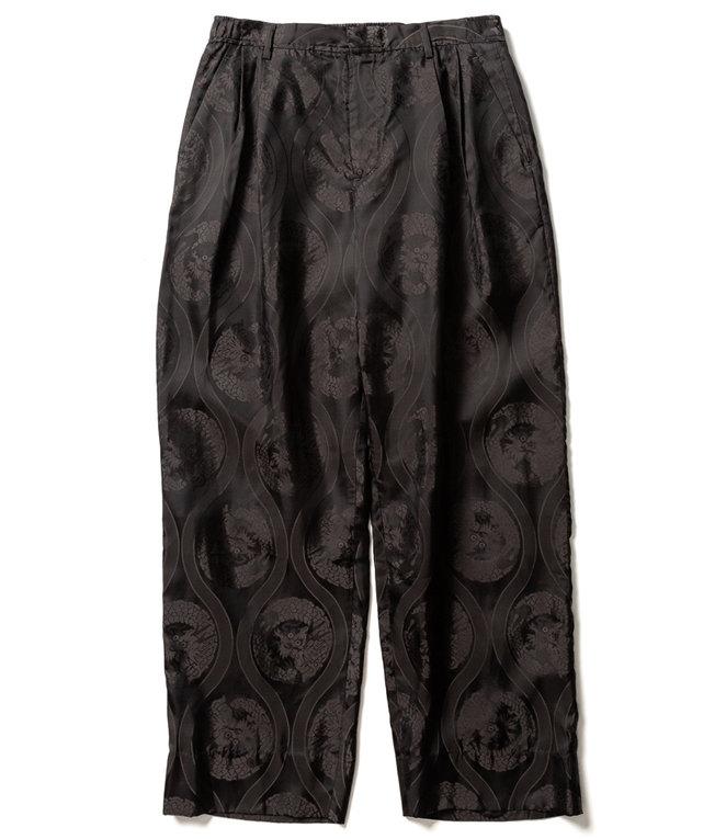Sasquatchfabrix. ORIENTAL DRAGON PANTS - BLACK
