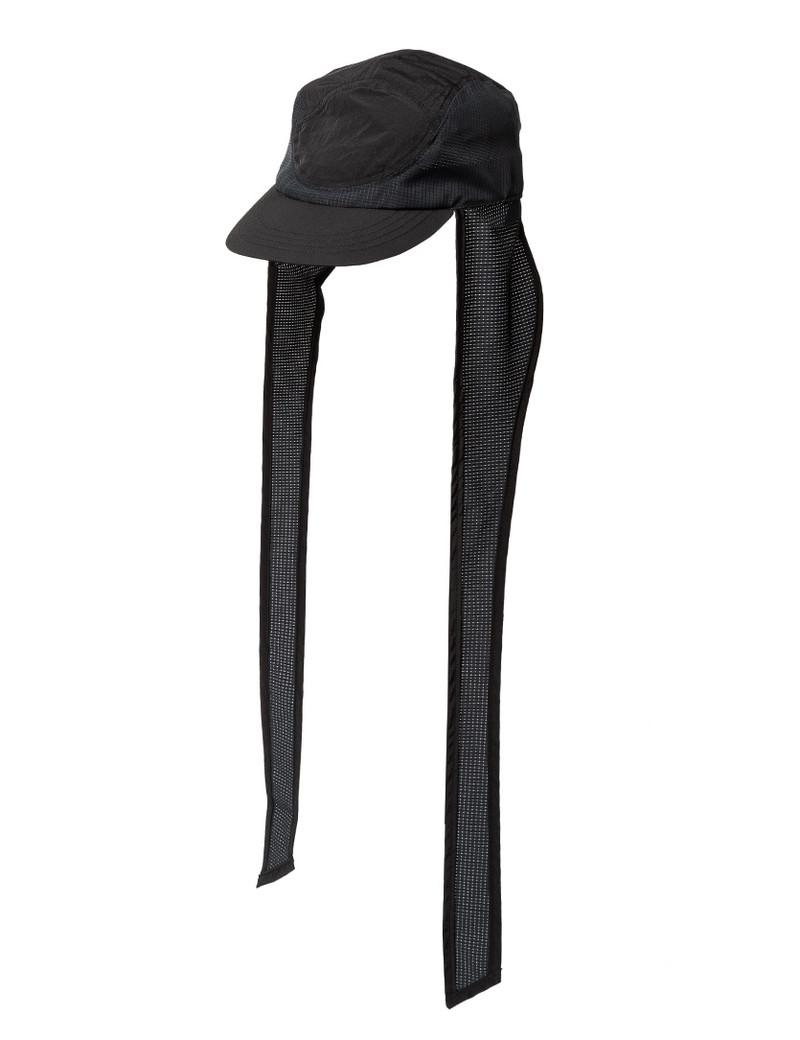 Sasquatchfabrix. NYLON EAR MUFF CAP - BLACK - ONE SIZE