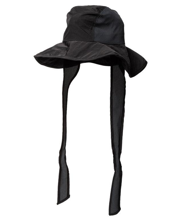 Sasquatchfabrix. NYLON EAR MUFF HAT - BLACK