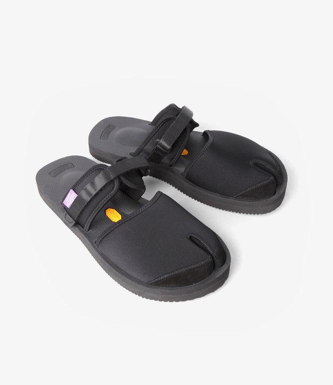 Suicoke Suicoke Purple Label / Split Toe Sandal A-B Vibram - Neoprene - Black