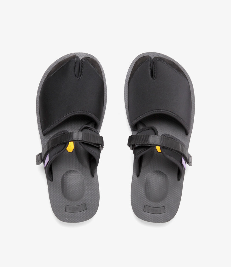 Suicoke Suicoke Purple Label / Split Toe Sandal A-B Vibram - Neoprene - Black