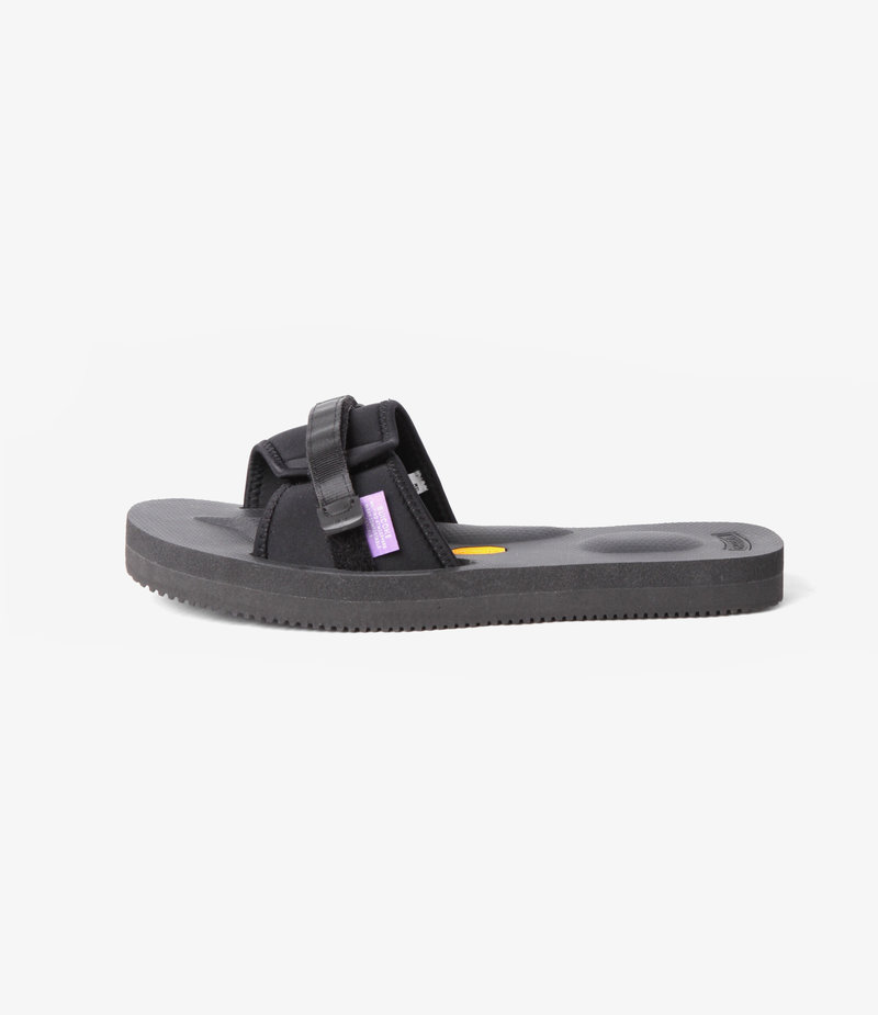 Suicoke Suicoke Purple Label / Slide-In Sandal A-B Vibram - Neoprene - Black
