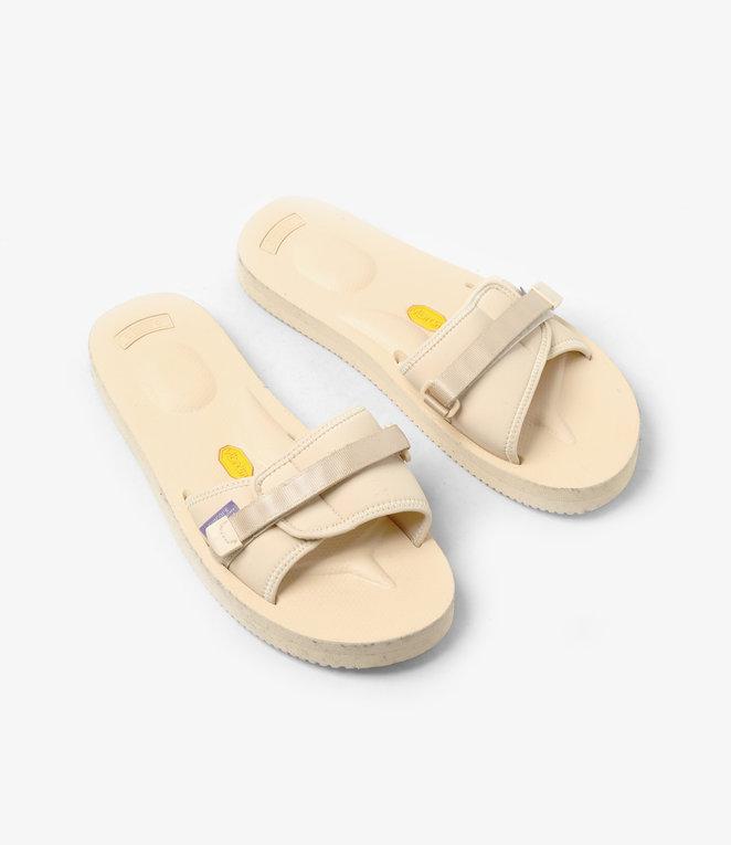 Suicoke Suicoke Purple Label / Slide-In Sandal A-B Vibram - Neoprene - Nude