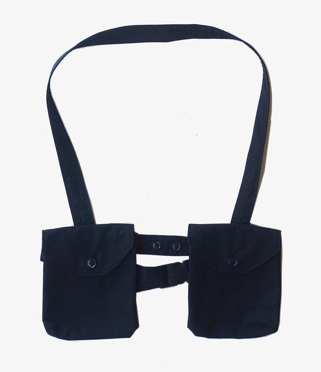 Engineered Garments Waist Bag - Dk.Navy PC Poplin