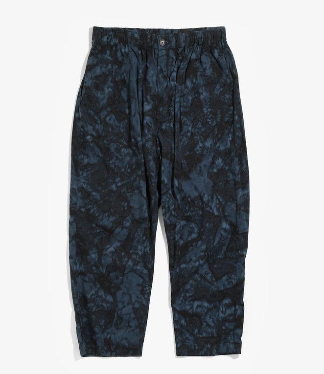 RANDT Studio Pant - Navy Black Cotton Batik