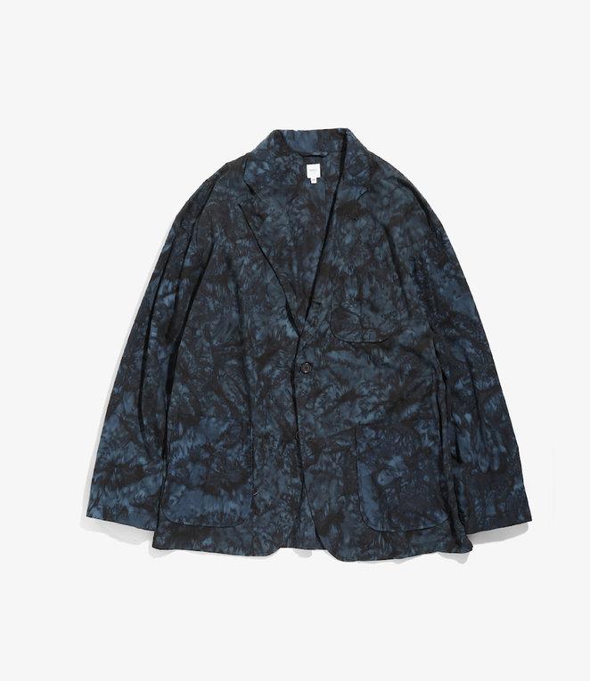 Studio Jacket - Navy Black Cotton Batik