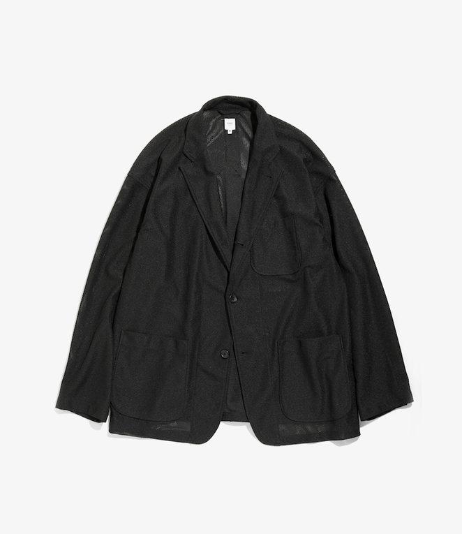 Studio Jacket - Black Koolknit Mesh