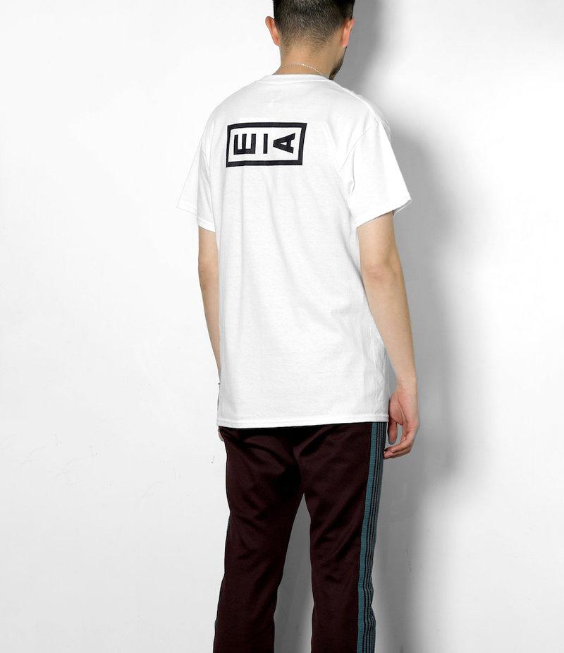 AïE Printed S/S Pocket T-Shirt - White w/ AiE logo print