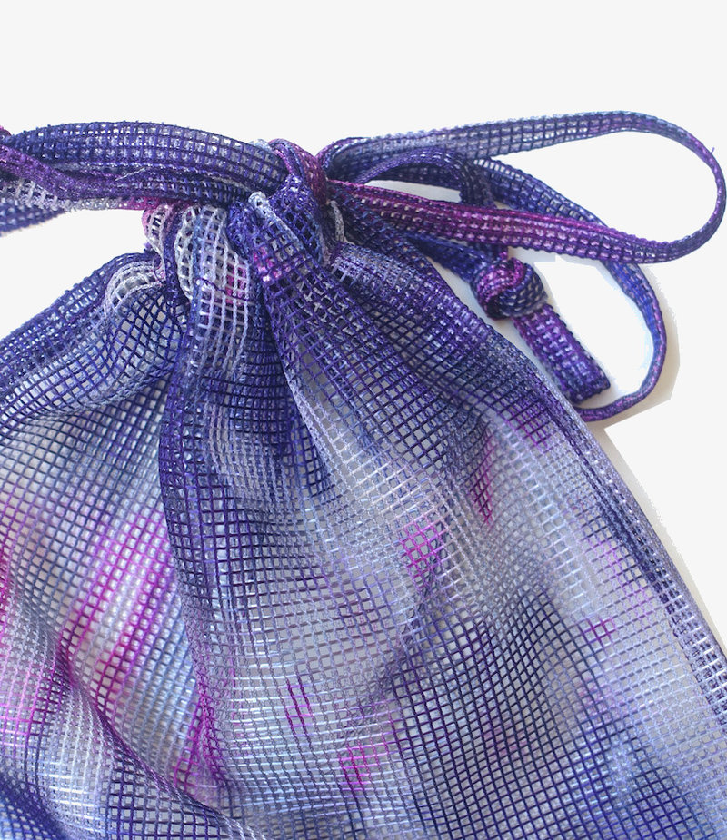 South2 West8 String Bag - Poly Heavyweight Mesh / Print - Tie Dye