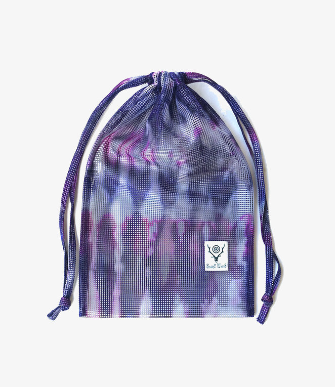 South2 West8 String Bag - Poly Heavyweight Mesh / Print - Tie Dye