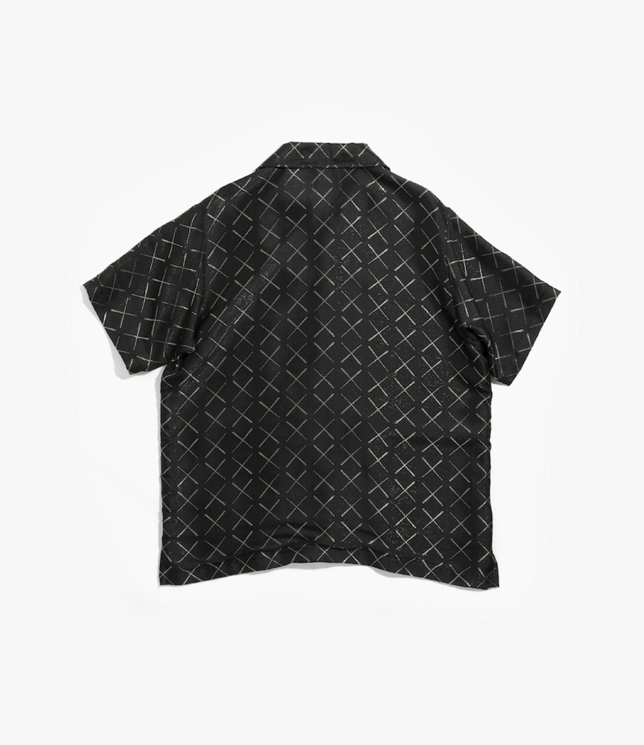 Needles Cabana Shirt - Cu/R/Pe Needles Jacquard - Black