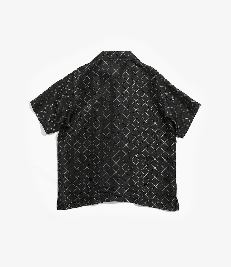 Needles Cabana Shirt - Cu/R/Pe Needles Jacquard - Black