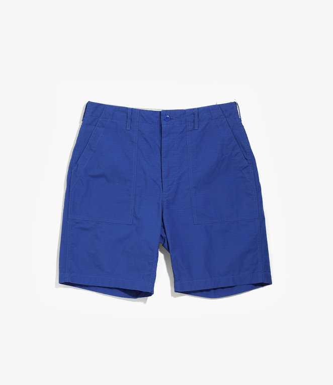 Engineered Garments Fatigue Short - Royal Cotton Ripstop