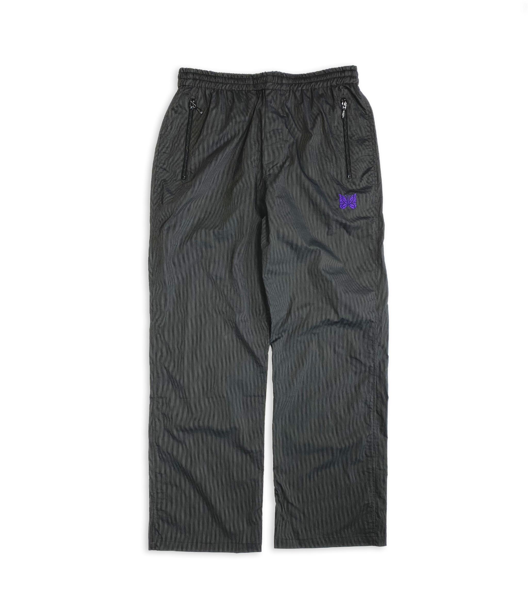 Needles Jog Pant - Nylon Iridescent Stripe - Charcoal