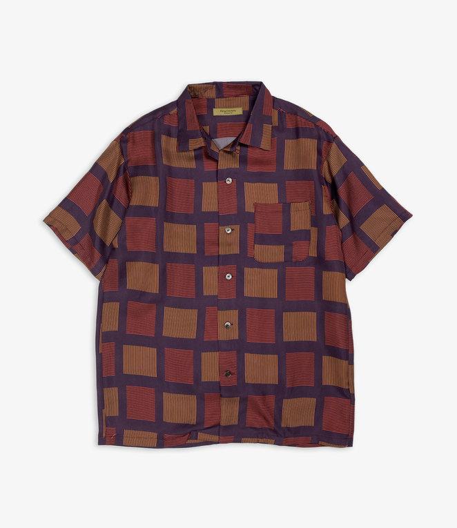 Wang Chomphu Silk SS Shirt / Pokcorpaa Sant - Siam Plaid