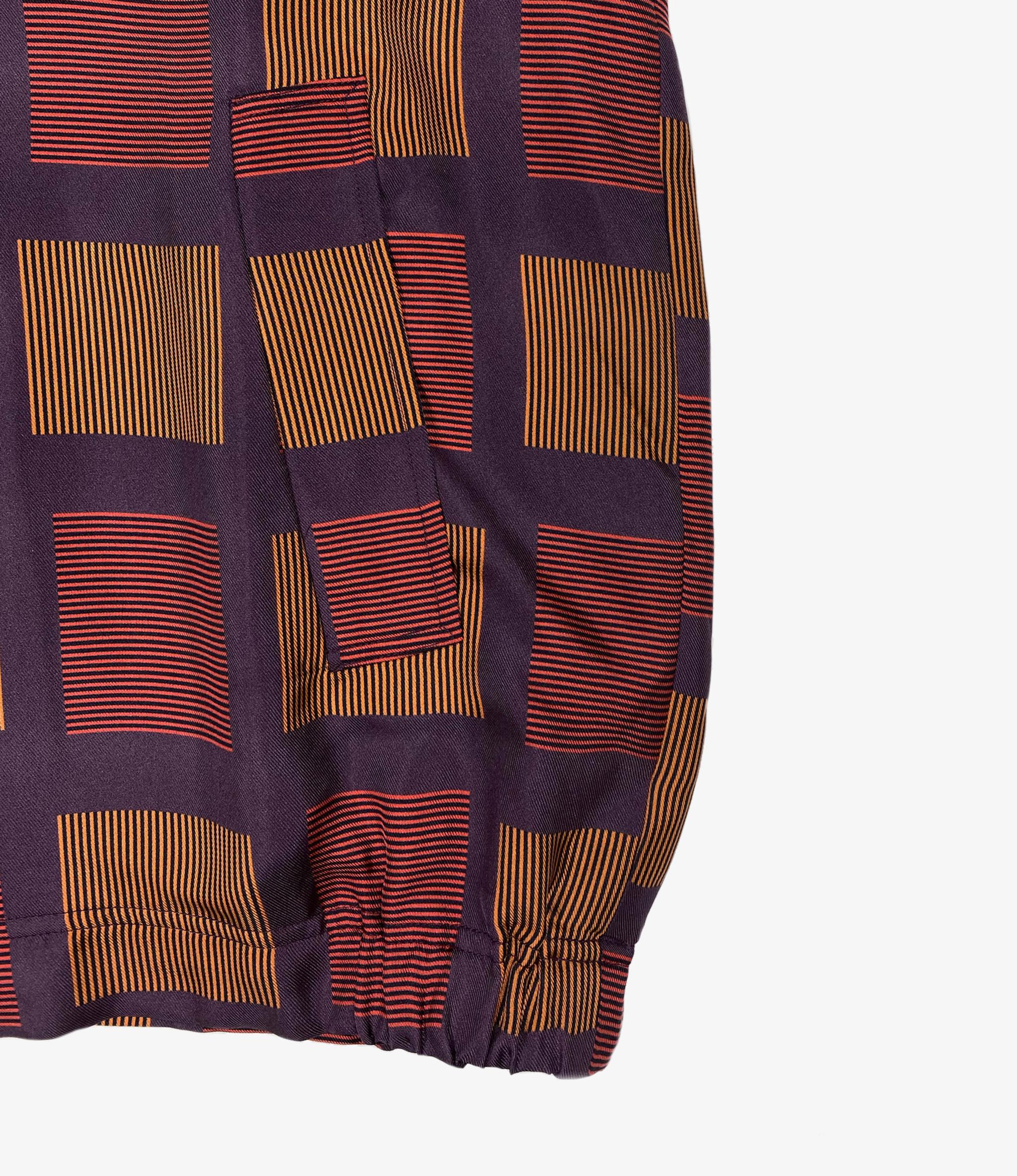 Wang Chomphu Silk Swing Top Jacket / Sure Klum - Siam Plaid