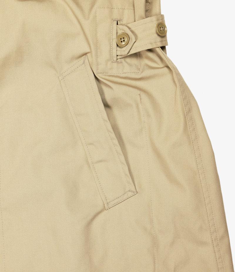 Engineered Garments MG Coat - Khaki PC Poplin