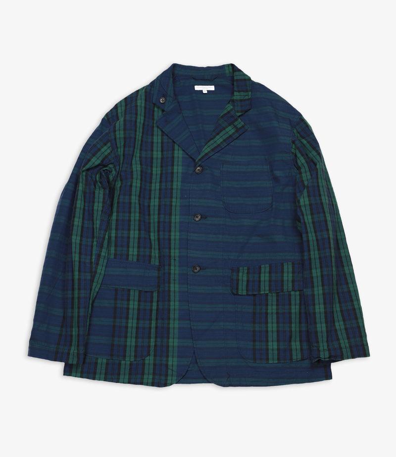 Engineered Garments Loiter Jacket - Blackwatch Big Repeat Madras