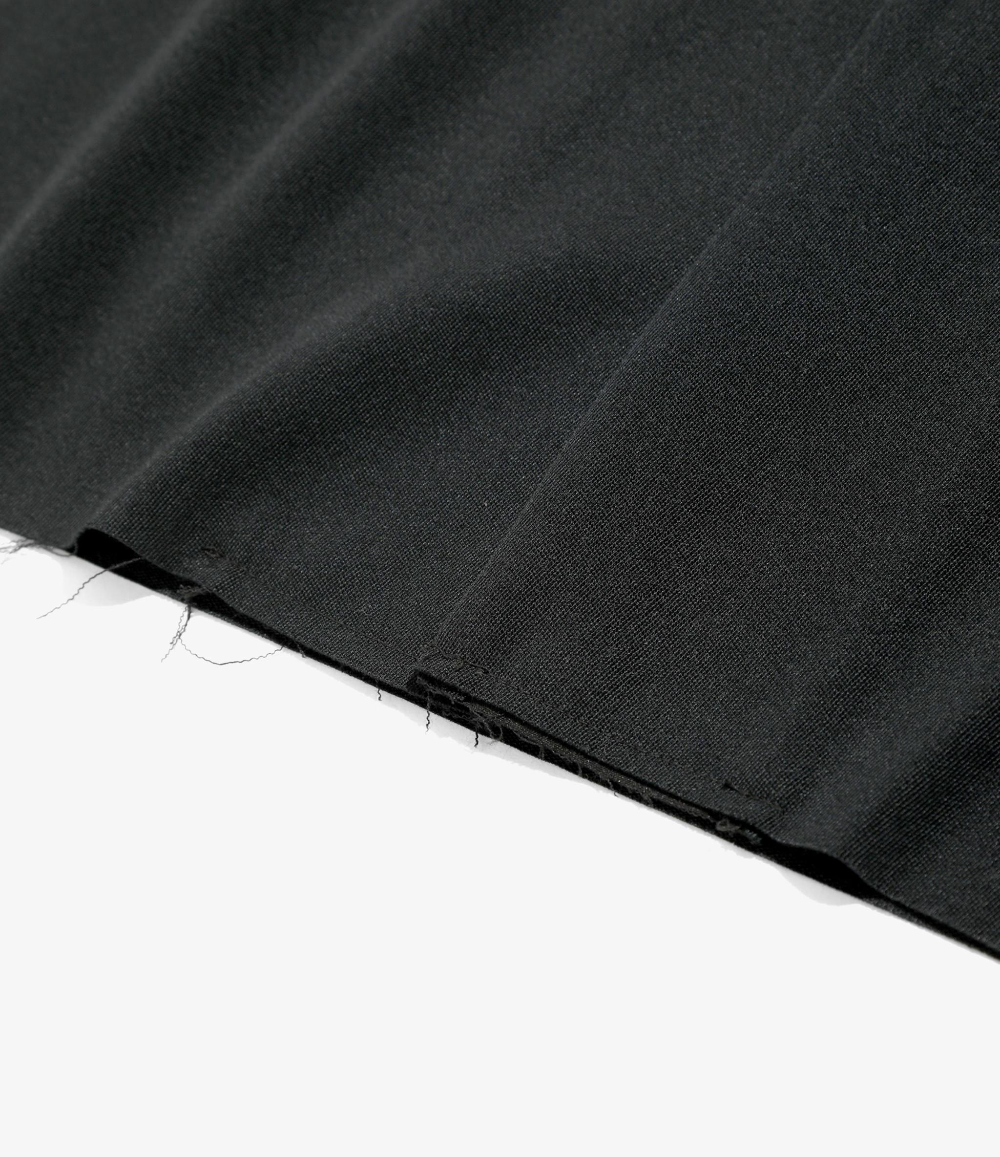 Needles Cut Off Bottom - One-Up Shirt - Pe/W Doeskin - Black