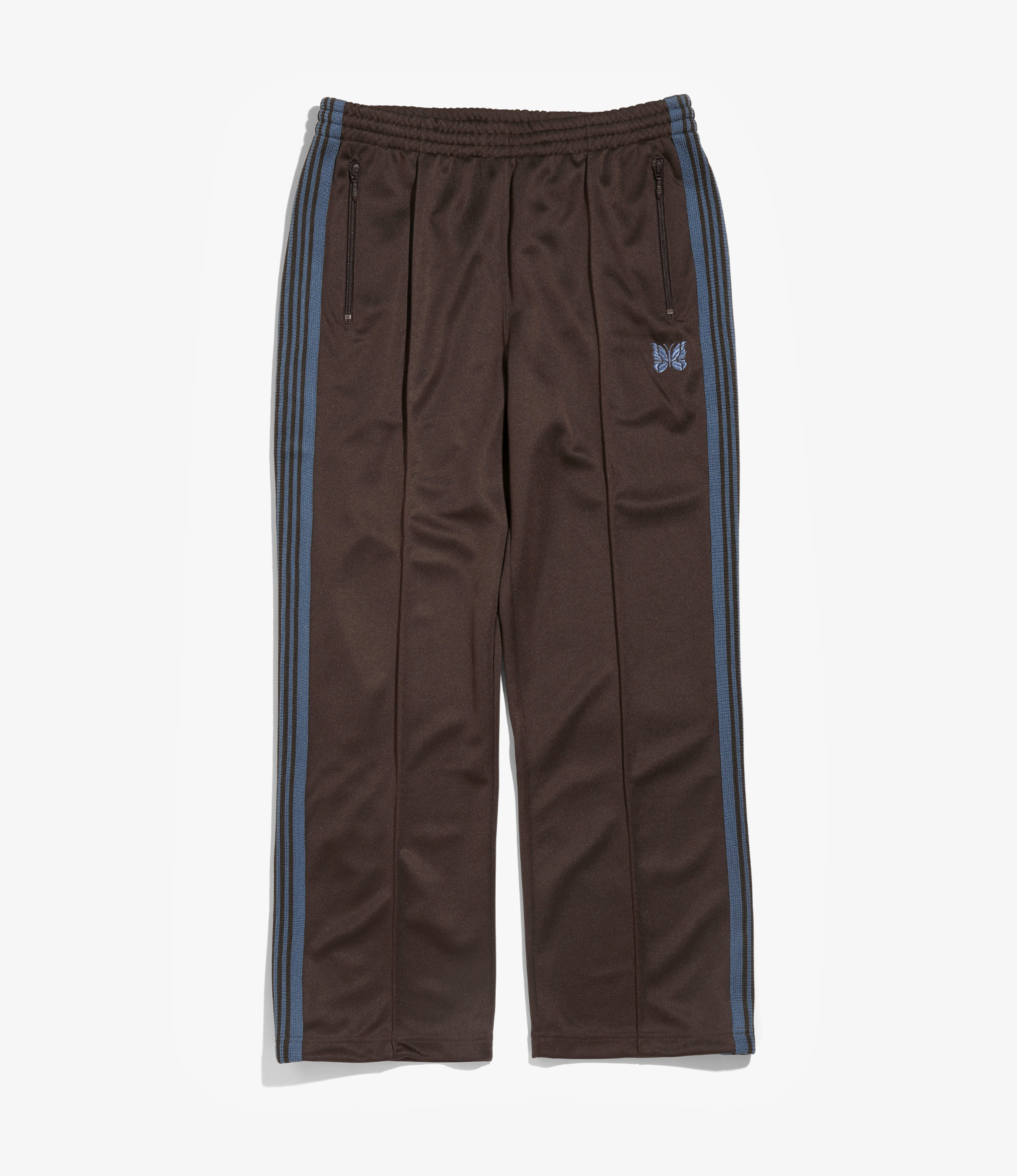 Needles Track Pant - Poly Smooth - Brown